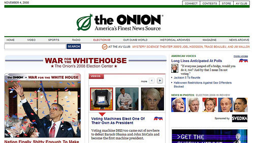 Satire Sites To Post Real News Today