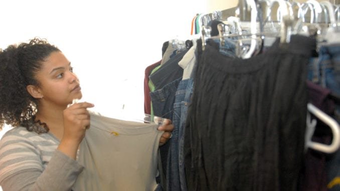 Mennonite Woman Buys Back Her Own Clothes at the MCC Store